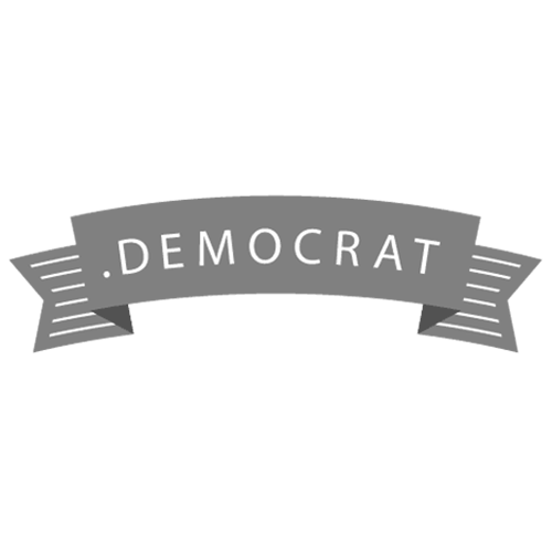 Register domain in the zone .democrat